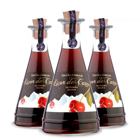 Pack 3 garrafas Licor de Cereja do Fundão